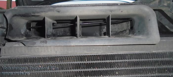 Замена троса капота Audi A8