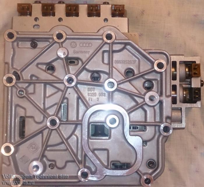 Дефектовка и переборка автоматической коробки передач 096