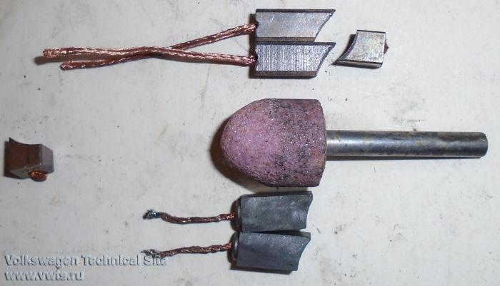Ремонт моторчика печки, замена коллектора и щеток