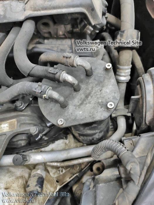 топливный фильтр - двигатель 1,6 TDI Common Rail