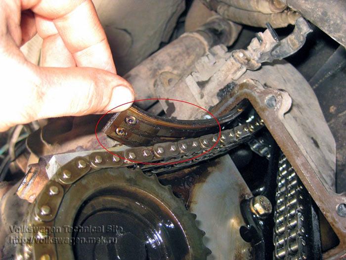 Ремонт и замена ГБЦ на двигателе Фольксваген AAA (VR6)