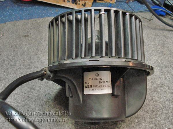 Ремонт моторчика вентилятора радиатора хайлюкс