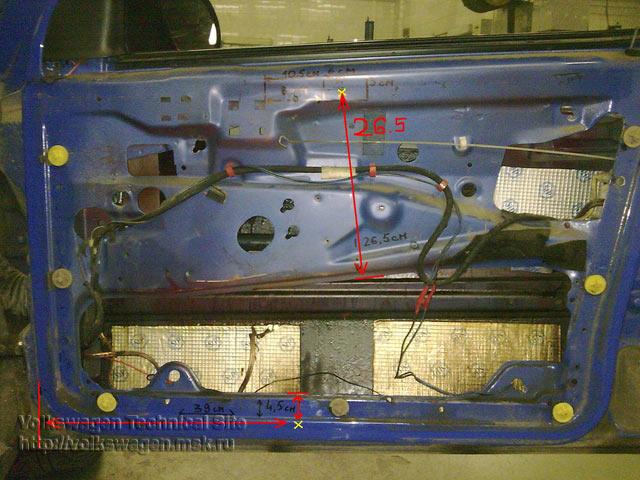 Фото №3 - как установить реечный стеклоподъемник на ВАЗ 2110