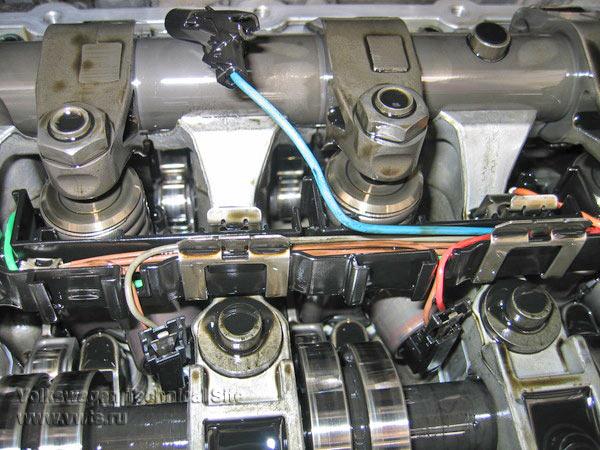 Замена свечи накала на двигателе BKD