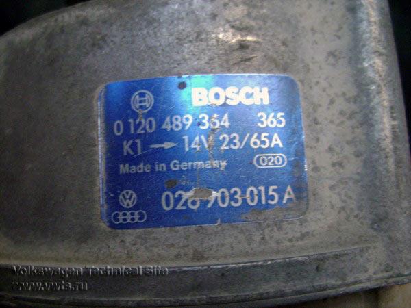 Замена подшипников в генераторе Bosch