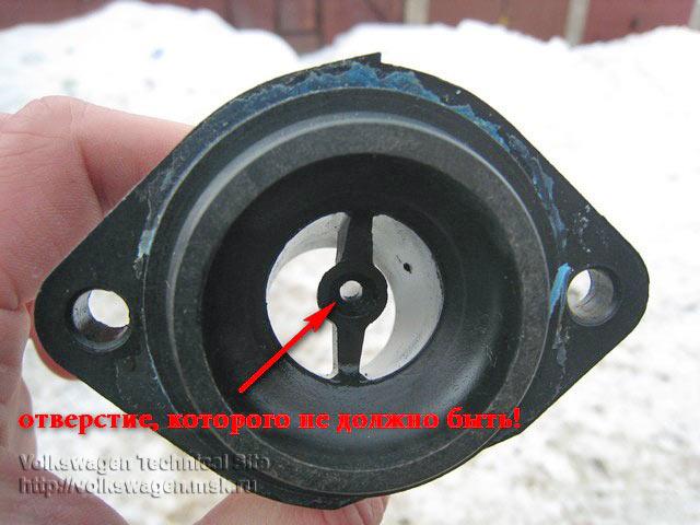 Замена термостата, крышки корпуса термостата
