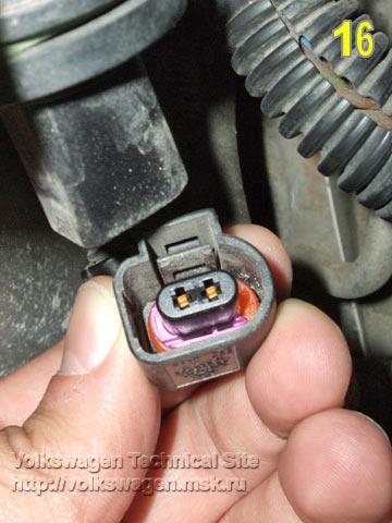 Датчик температуры фольксваген т4 охлаждающей жидкости