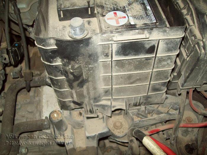 Снятие коробки передач 02E (DSG)