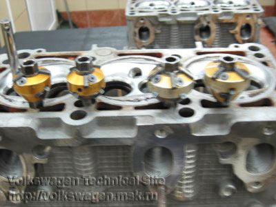 Ремонт головок двигателей ABC, AAH, ACK на Audi A6 (4A)