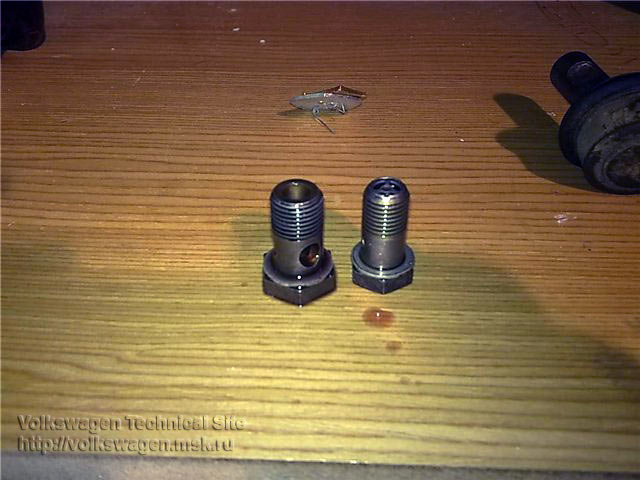 Снятие рулевой рейки на VW Passat B5