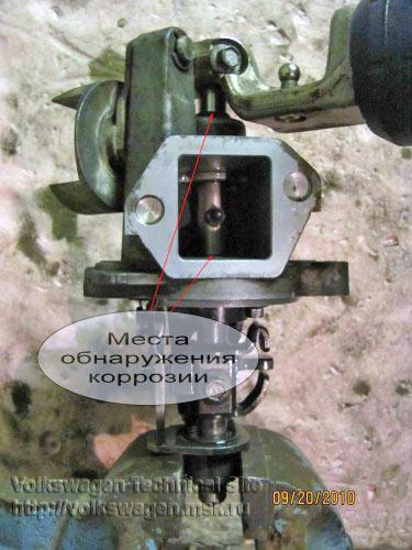 Ремонт механизма переключения передач Фольксваген Шаран
