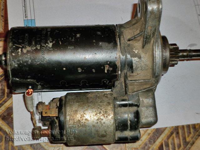 Ремонт стартера Bosch