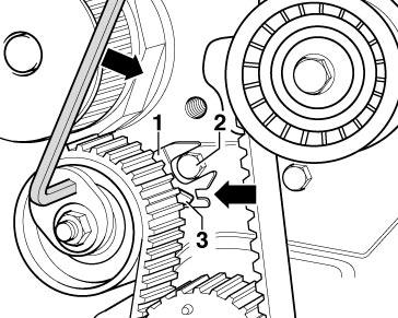 Замена ремней ГРМ на двигателе BUD в VW Golf 5