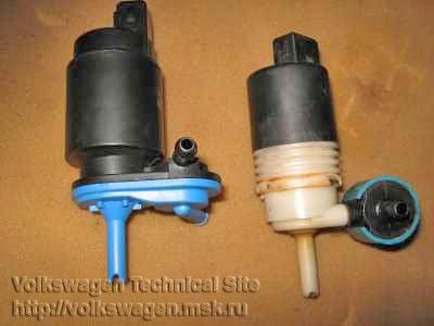 Замена моторчика омывателя пассат Установка и замена гофры глушителя опель мерива