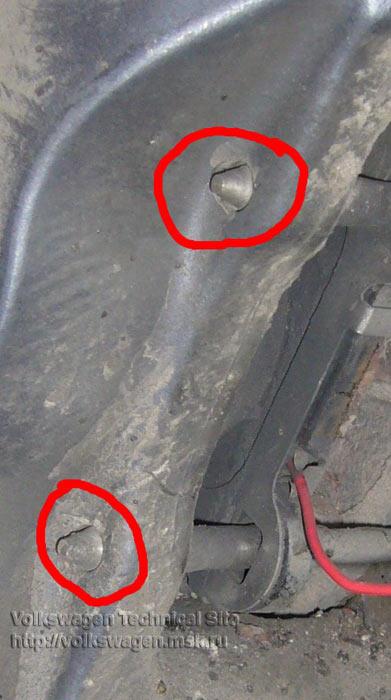 Замена задних тормозных колодок Фольксваген Туарег
