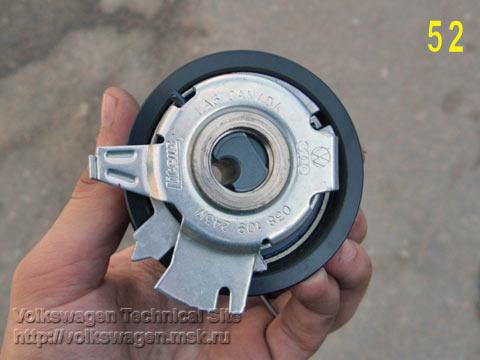 Замена ремня ГРМ, роликов и помпы на двигателе BKC