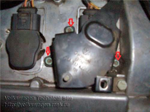 Замена свечей зажигания на двигателях Фольксваген