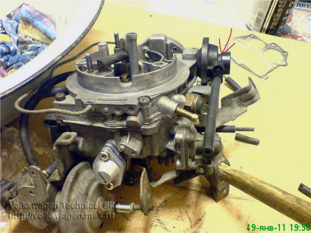 Карбюратор 2Е2 ремонт, переборка, профилактика