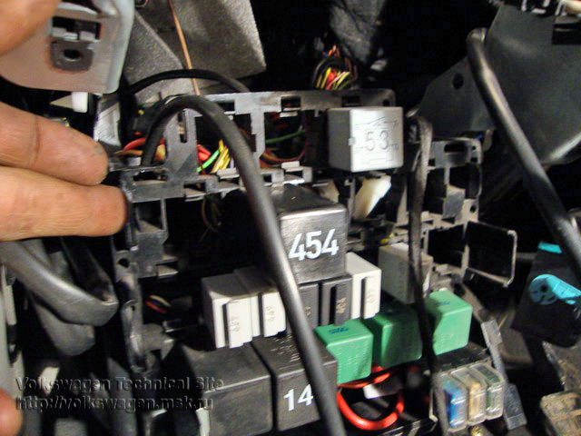 Двигатель ASZ - ремонт предпускового подогрева