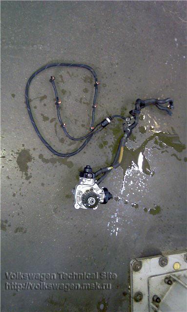 Двигатель CASA замена ТНВД, форсунок, топливнго бака