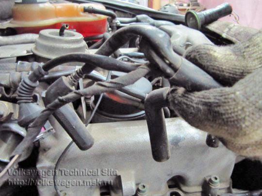 Ремонт электронной форсунки двигателе Audi AKN