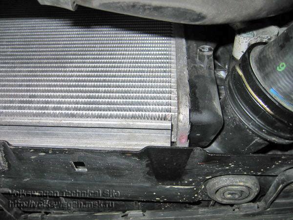 Замена радиатора джетта 6 Замена троса ручного тормоза lancer 9