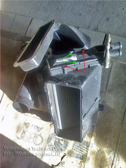 замена радиатора печки на транспортер т4