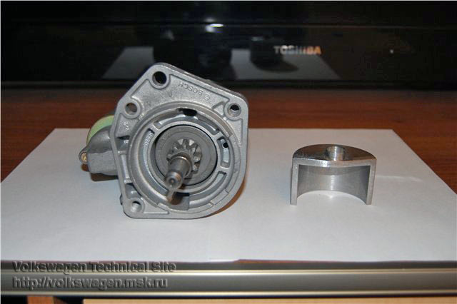 Переделка стартера Bosch в безвтулочный