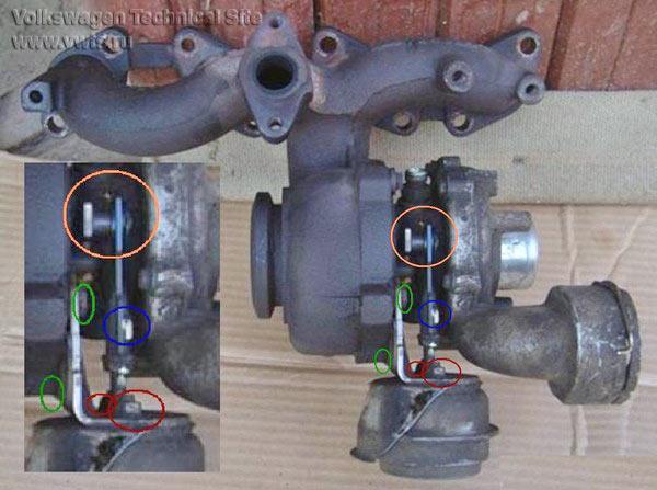 Определение передува турбины по логам, двигатели TDI