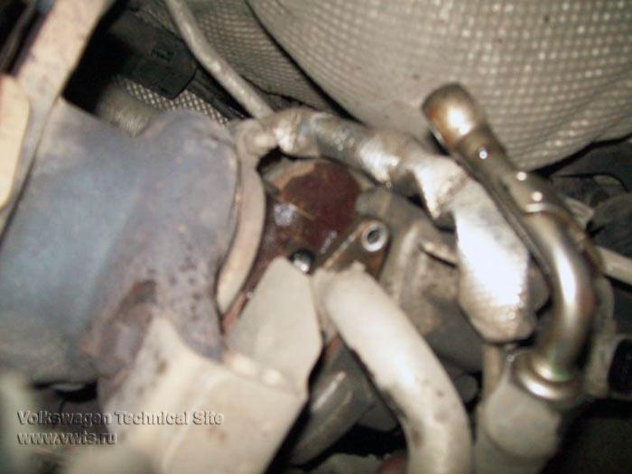 Снятие ГБЦ на двигателе FSI Турбо