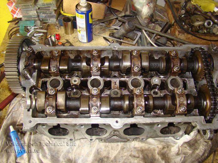 Капитальный ремонт двигателя KR на VW Passat B3