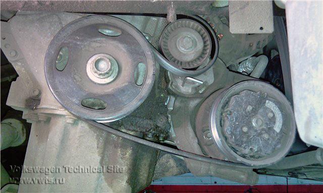 Замена цепи ГРМ на двигателях Фольксваген BAG, BLF, BLP