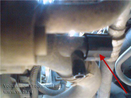 фольксваген двигатель акл количество охлаждающей жидкости
