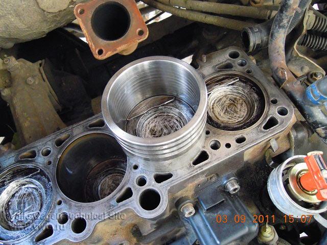 Замена поршневых колец на двигателе Фольксваген ABS
