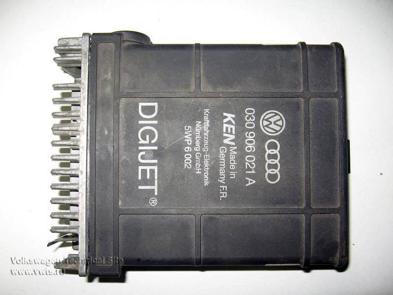 Ремонт ЭБУ Digijet на двигателе 1.3 NZ