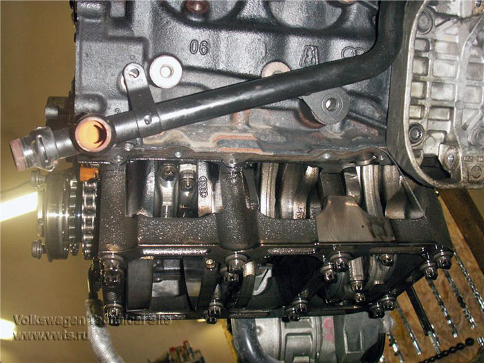 Audi Q7 ремонт двигателя 3.0 TDI