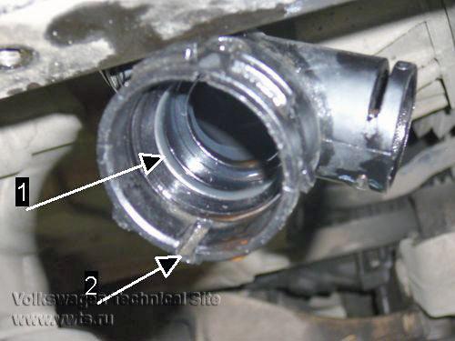 Ремонт системы охлаждения VW Golf