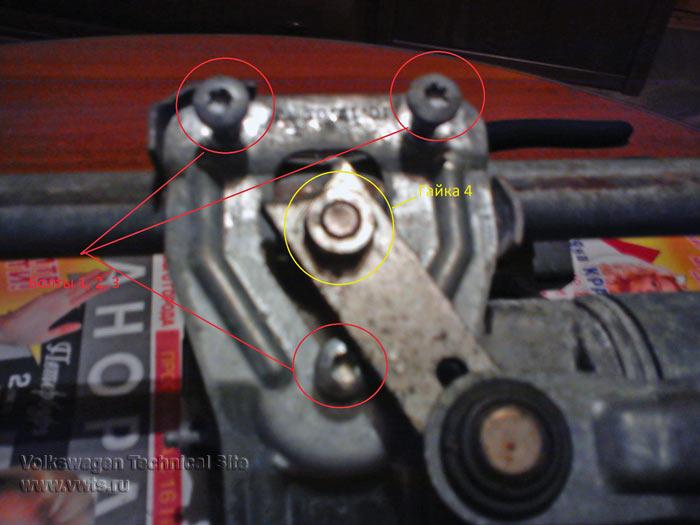 Ремонт передних стеклоочистителей VW Golf 5 / VW Jetta 5