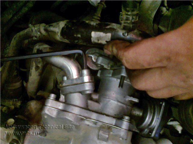 Ремонт привода заслонки отработавших газов клапана EGR