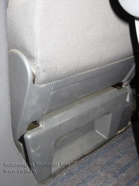 замена сидений фольксваген транспортер т5