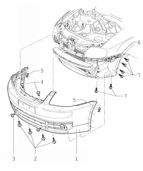 Снятие бампера и ремонт крепежа фар Туран, Тигуан, Гольф