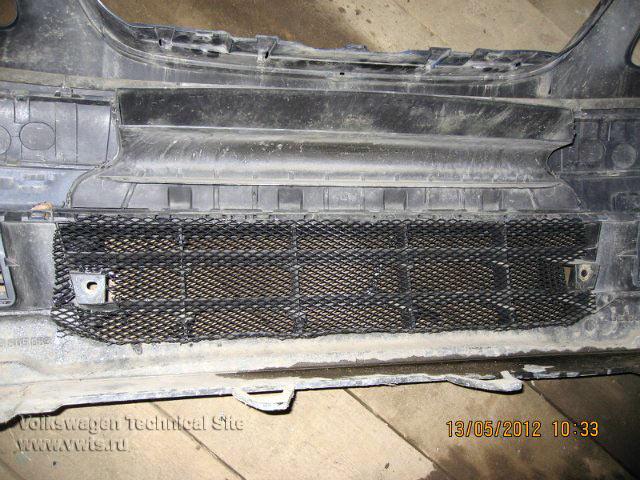 Установка защитной решетки на радиатор