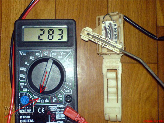 как проверить датчик уровня топлива как проверить
