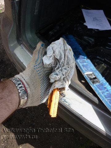 Восстановление блока парктроника Park Assist на Фольксваген Туарег