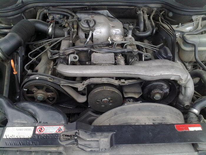 клапан егр audi 2.5 tdi двигатель bdg