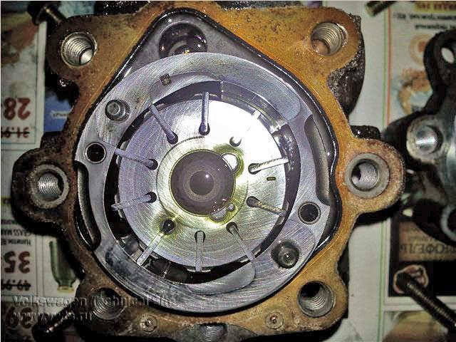 Ремонт насоса гидроусилителя руля VW Passat B3-B4 и VW Golf 3
