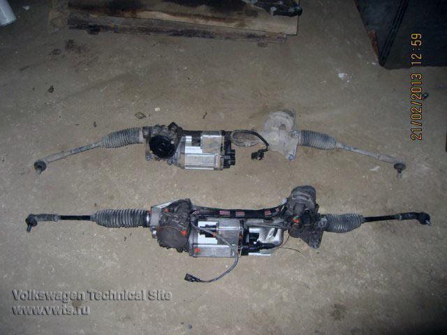 Ремонт электрического усилителя руля (ЭУР) 2 поколения