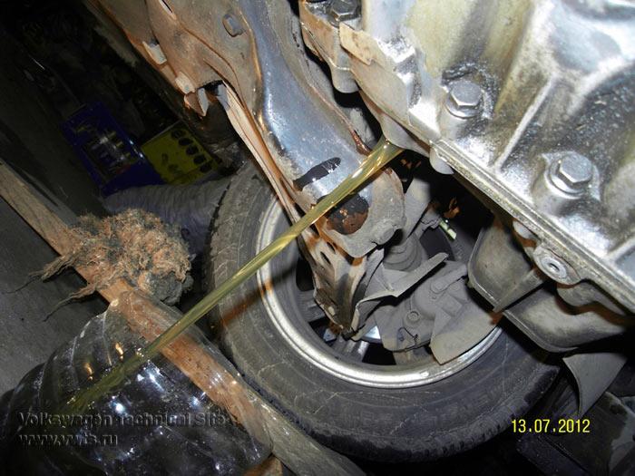 Замена сальника вала переключения передач в МКПП 085