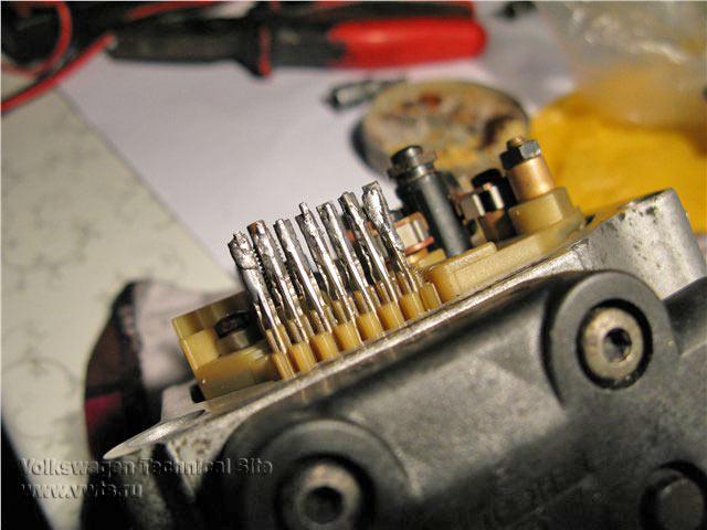 Чистка механизма управления количеством топлива (МУКТ)