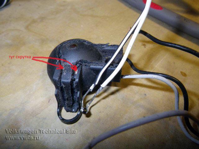 фольксваген пассат в 3 термодатчики